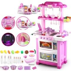 Little Girl Kitchen Sets Dining Chairs 贝比谷儿童过家家厨房玩具套装煮饭做饭蛋糕餐具模型男孩小女孩3 6岁益智 贝比谷儿童过家家厨房玩具套装煮饭做饭蛋糕餐具