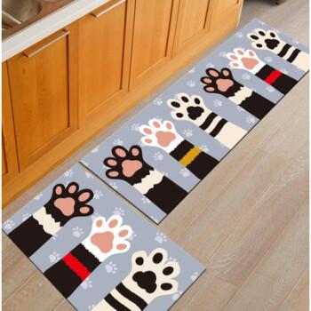 kitchen carpet sets cabinet designer 厨房地毯长条防滑地毯地垫家用长方形卧室床边毯儿童爬行毯可定制熊掌60 厨房地毯长条防滑地毯地垫家用长方形卧室床边毯儿童爬行