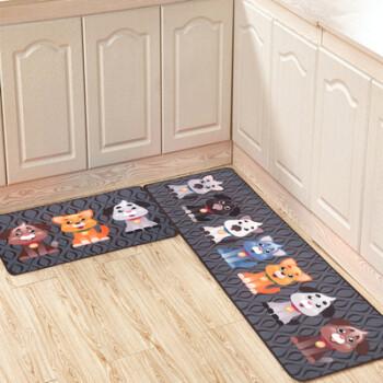 cute kitchen rugs wall shelf 九德地毯现代简约卡通可爱图案厨房地垫长条吸水吸油脚垫卫生间浴室门垫 九德地毯现代简约卡通可爱图案厨房地垫长条吸水吸油脚