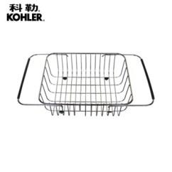 Kitchen Basket Rattan Chairs 科勒沥水篮厨用不锈钢线篮厨房水槽篮子洗菜厨用置物架厨房砧板沥篮组合k 科勒沥水篮厨用不锈钢线篮厨房水槽篮子洗菜厨用置物