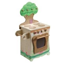Solid Wood Toy Kitchen Stainless Steel Utensil Set Teamson 玩具女孩迷你厨房套装做饭过家家炉子实木儿童生日礼物男w 9647a 玩具女孩迷你厨房套装做饭过家家炉子实木儿童生日礼物