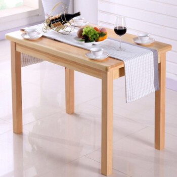 pine kitchen table cork flooring for 实木餐桌椅子组合一桌四椅长方形全实木桌厨房吃饭桌子松木家用单桌120 70 实木餐桌椅子组合一桌四椅长方形全实木桌厨房吃饭桌子松木