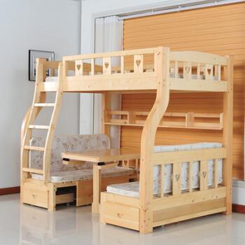 kitchen drawer slides 2 seater table set 多功能高低床双层梯柜床木上下铺带书桌抽屉滑梯t 爬梯款1 3米下1 5米包 多功能高低床双层梯柜床木上下铺带书桌抽屉滑梯