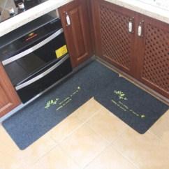 Kitchen Mat Sets Palm Tree Decor 厨房地垫进门脚垫门垫卫生间门口防滑垫垫子吸水地毯jmy 深灰小鸟40 60 40