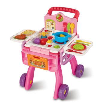 childrens toy kitchen square island 伟易达厨房购物车 伟易达 vtech 儿童玩具厨房购物车男孩女孩早教益智