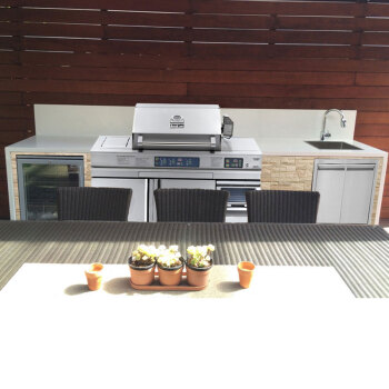 how much does an outdoor kitchen cost molding on top of cabinets boweile波维乐户外厨房户外烧烤炉专属私人定制bvq8008订制方案4 图片 图片价格品牌报价 京东