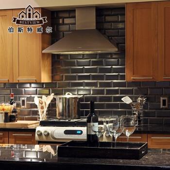 ceramic kitchen top wall mount faucets 北欧黑白斜边地铁砖面包砖瓷片陶瓷釉面墙砖卫生间厨房厕所瓷砖哑光黑 北欧黑白斜边地铁砖面包砖瓷片陶瓷釉面墙砖卫生间