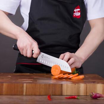 katana kitchen knife backsplash tile designs 拓 tuobituo 拓牌刀具美卡塔系列日本进口钢材家庭实用菜刀套装组合7件 拓牌刀具美卡塔系列日本进口钢材家庭实用