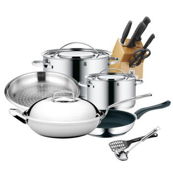 kitchen utensil sets trailers wmf不锈钢锅具套装 wmf 不锈钢锅具套装六件套通用炉灶厨具套装 行情