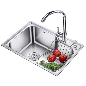 undermount single bowl kitchen sink 8 inch knife 卡贝c58 43a 98093 卡贝 cobbe 厨房水槽单槽304不锈钢洗菜盆水池洗碗 厨房水槽单槽304不锈钢洗菜盆水池洗