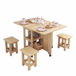Pine Kitchen Table Quartz Countertops 松木小餐桌 价格 图片 品牌 怎么样 京东商城 Paden 实木折叠桌餐桌小户型伸缩方桌简易约家用4人松木厨房