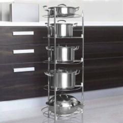 Pot Racks For Kitchen Crosley Steel Cabinets 厨房锅架 价格 图片 品牌 怎么样 京东商城 朝暮之家不锈钢厨房置物架锅架落地多层收纳锅架