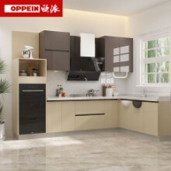Kitchen Cabinates Faucets Lowes 烤漆整体厨柜 价格 图片 品牌 怎么样 京东商城 欧派 Oppein 橱柜整体橱柜定做烤漆厨柜现代厨房橱柜定制