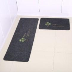 Kitchen Rug Stainless Steel Hood 厨房地毯脚垫 价格 图片 品牌 怎么样 京东商城 志动2条装门口厨房地垫地毯长条吸水防油防滑