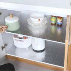 Kitchen Stove Tops Green Furniture 厨房灶台面 价格 图片 品牌 怎么样 京东商城 家英墙壁灶台铝箔防油贴纸厨房加厚自粘可剪