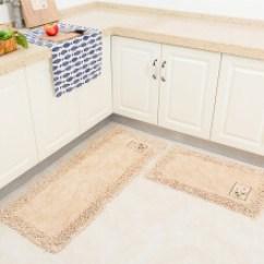 Navy Blue Kitchen Rugs Pantries For 纯棉地毯客厅 价格 图片 品牌 怎么样 京东商城 厨房地毯脚垫地垫门垫全棉防滑防油吸水吸尘
