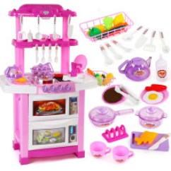 Childrens Toy Kitchen Counter Table 儿童玩具厨房套装 价格 图片 品牌 怎么样 京东商城 贝恩施 Beiens 益智玩具儿童仿真过家家厨房男孩女孩