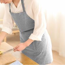 kitchen apron for kids tile countertops 家居厨房围裙 价格 图片 品牌 怎么样 京东商城 艺姿棉麻围裙无袖家居厨房条纹时尚围裙烘焙围裙yz