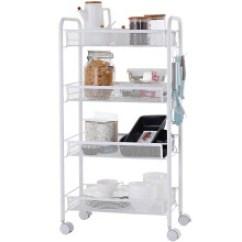 Kitchen Storage Racks Trash Can Dimensions 厨房储物架收纳架 价格 图片 品牌 怎么样 京东商城 美厨 Maxcook 厨房置物架落地四层储物架收纳架
