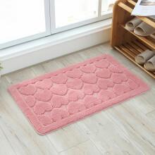 pink kitchen rug china cabinet 粉红色地毯 价格 图片 品牌 怎么样 京东商城 可可苏打卧室卫浴浴室门口地垫门垫门厅地毯家用卫生间洗手间防滑