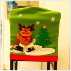Christmas Chair Back Covers Uk Leg Extensions Discount Table Cover With Free Shipping Joybuy Com Merry Santa Red Hat Dining Party Xmas Decor