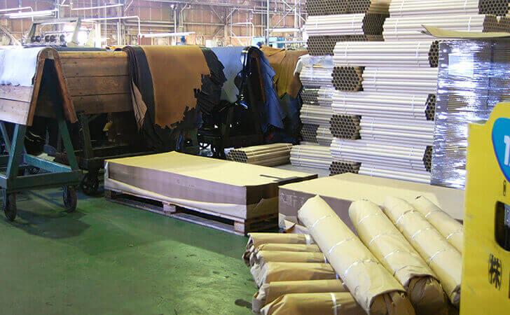革の荷造り・梱包