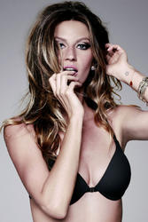 Gisele Bundchen in black underwear shoot for Hope Lingerie - Hot Celebs Home