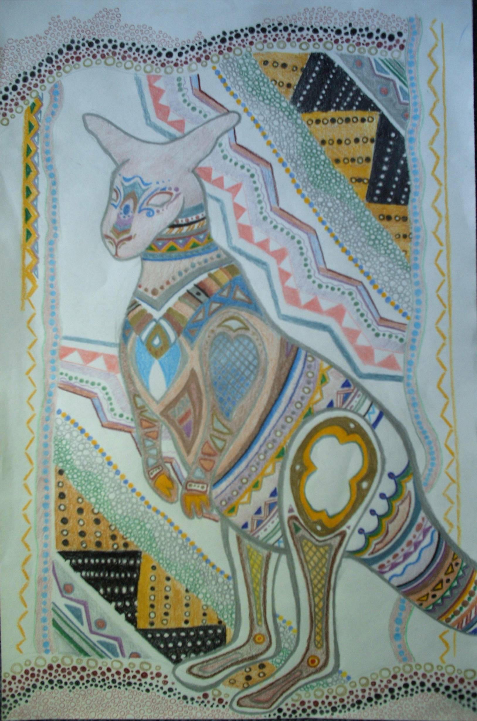 Aboriginal Kangaroo Ii