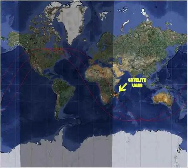 noticias satelite uars