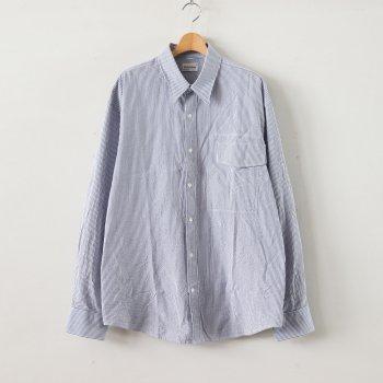 IRREGULAR POCKET SHIRT #BLUE [GR-SH] _ gourmet jeans   グルメジーンズ