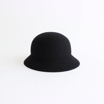 POLAND WOOL FELT HAT #BLACK [NO.19748] _ COMESANDGOES   カムズアンドゴーズ