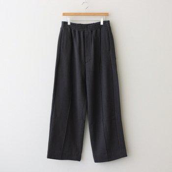 WIDE LEG LOUNGE PANTS #CARBON BLACK [YK21AW0294P] _ YOKE   ヨーク