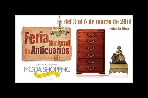 Feria Vanguardia Antigüedades - Moda Shopping