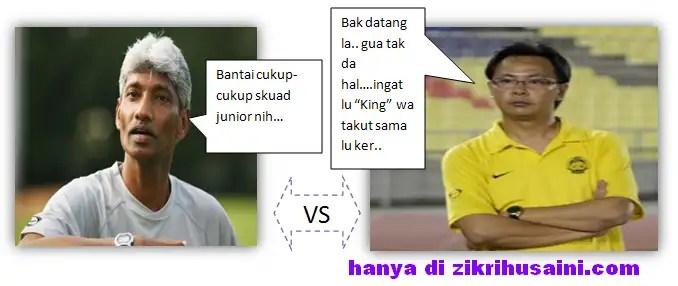 k raja gopal vs ong kim swee, perlawanan persahabatan harimau muda vs harimau malaya senior, keputusan bola harimau malaya vs harimau senior 2011,
