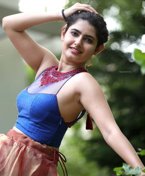 Ashima Narwal shaved armpit side view without bra