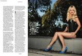 Anna Faris leggy and cleavagy in Arena magazine - Hot Celebs Home