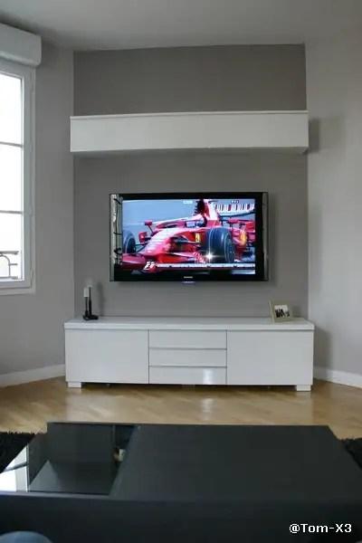 Fixer Tv Au Mur : fixer, Installer, Conseils,, Astuces, Photos», 29883755, Forum, «Installations, Dédiées», Homecinema-fr.com