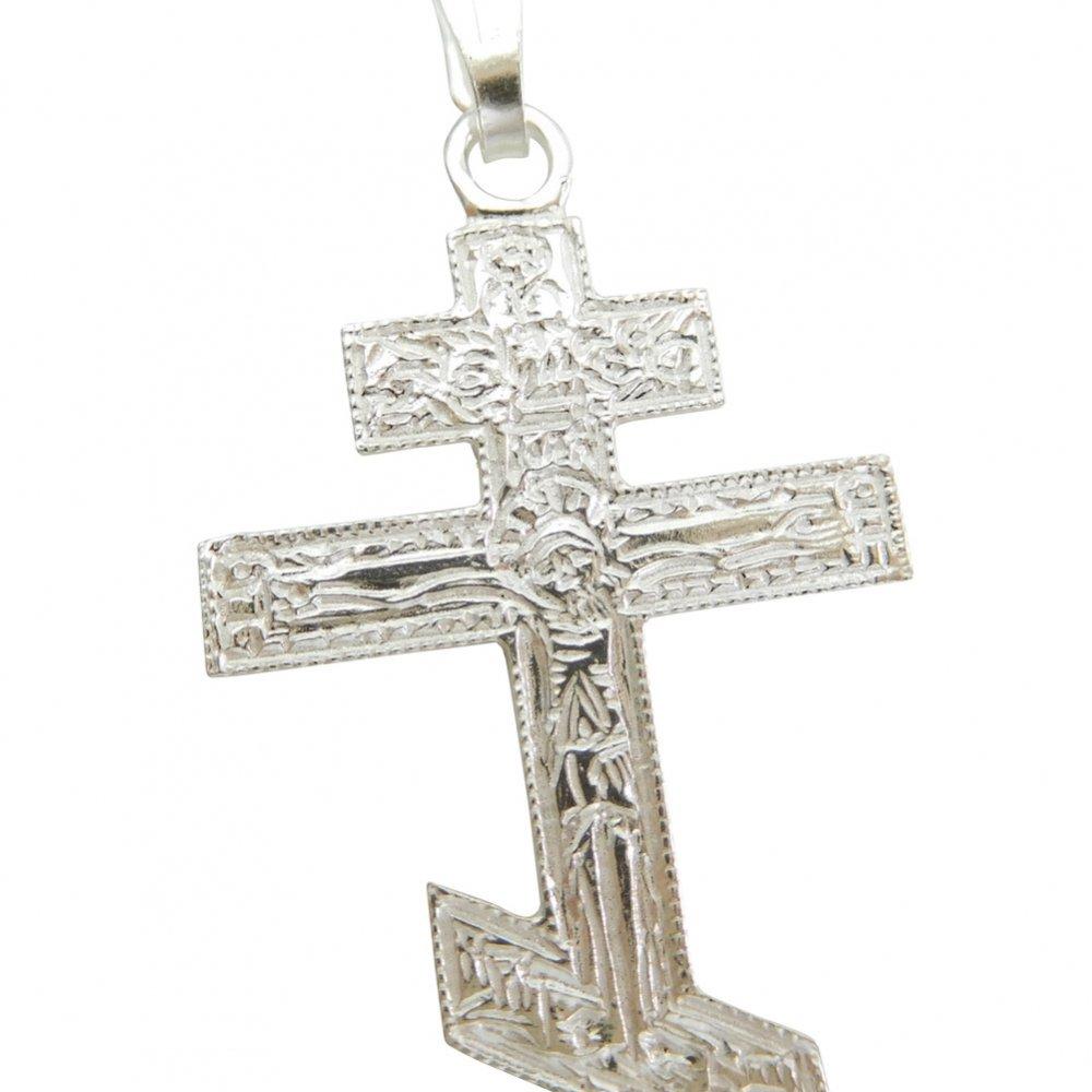 正教會十字架 クロス 八端十字架 ペンダント シルバー925 イタリア製 - メダイ・ロザリオ・十字架・センター ...