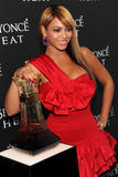 Beyonce leggy in red dress at launch party for her new fragrance 'Heat' in New York City - Hot Celebs Home