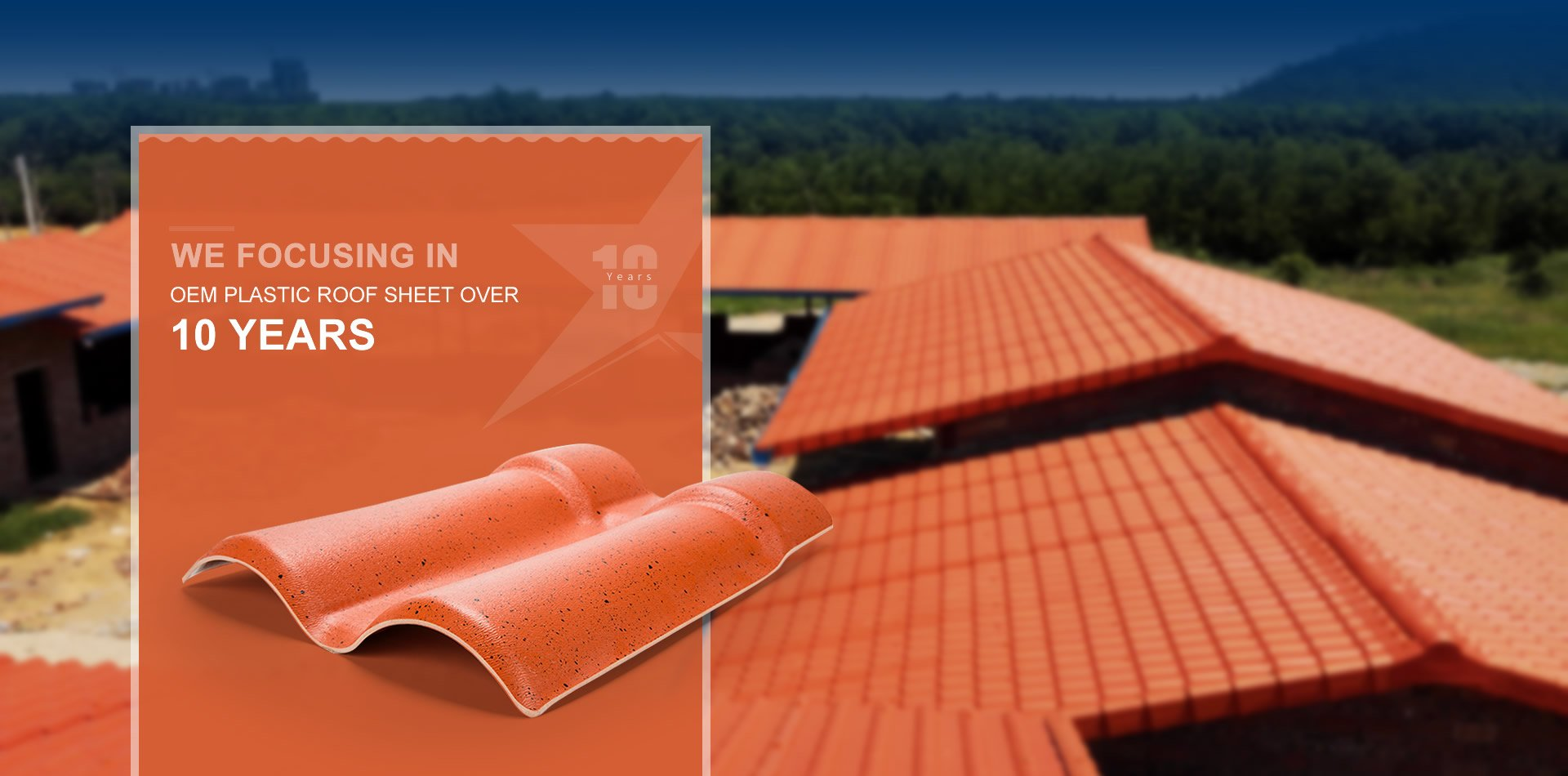 PVC Roofing Sheet Plastic Roofing Tile Manufacturer  Xingfa