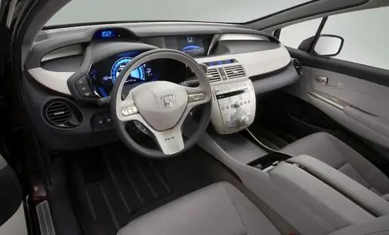 hondafcxclarity2 - Automóvil eléctrico que genera su propia energía presentado por Honda
