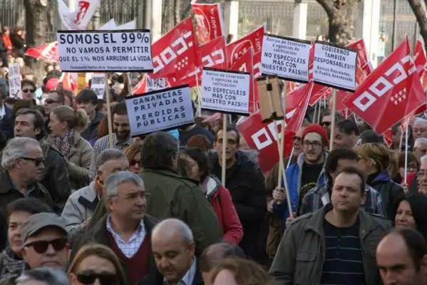 Protestas reforma laboral