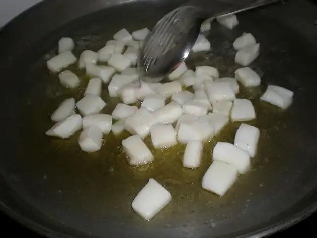 Freír potón