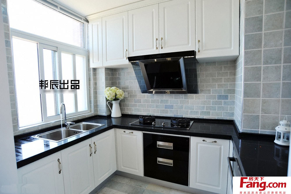 kitchen stove tops cheap sinks 黑白色风格厨房灶台面 厨房炉灶台面
