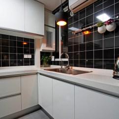 Wall Tile Kitchen Sideboards 2019厨房墙砖颜色效果图片 房天下装修效果图 墙砖厨房