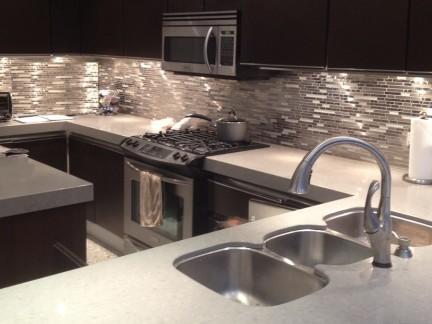 kitchen mosaic brand new cost 2019厨房马赛克瓷砖效果图 房天下装修效果图 厨房金属马赛克瓷砖图片