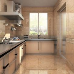 Wall Tile Kitchen Glass Cabinets 2019厨房墙砖效果图 房天下装修效果图 阳台厨房墙砖装修图片
