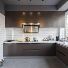 Pictures For Kitchen Wall Rustic Clock 2019美式厨房墙砖贴图 房天下装修效果图 美式厨房墙砖
