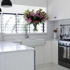 Kitchen Designs Kits 2019简约风格小户型厨房设计 房天下装修效果图 精致纯白简约风格小户型厨房设计图