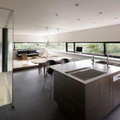 Kitchen Islands Uk Country Sinks 清爽简约风格开放式厨房中岛设计图 收藏